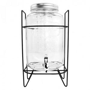 dispensador de jugo 4 litros con stand metalico allegra